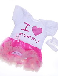 cheap -Reborn Baby Dolls Clothes Reborn Doll Accesories Cotton Fabric for 22-24 Inch Reborn Doll Not Include Reborn Doll Heart Soft Pure Handmade Girls' 2 pcs