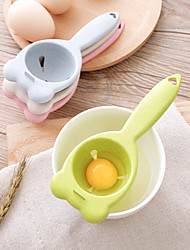 cheap -New Egg Yolk White Separator Wheat Straw Eggs Filter Cartoon Extractor Cooking Accessories Cute Kitchen Gadgets