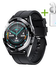 cheap -JSBP HY10 Men Women Smartwatch BT Fitness Tracker Support Notify/ Heart Rate/ Sport Smart Watch for Apple/ Samsung/ Android Phones Distribution of TWS Headphones