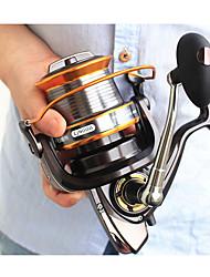 cheap -Fishing Reel Spinning Reel 5.2:1, 5.1:1, 4.11:1 Gear Ratio+13 Ball Bearings Hand Orientation Exchangable Sea Fishing / Freshwater Fishing / Trolling & Boat Fishing