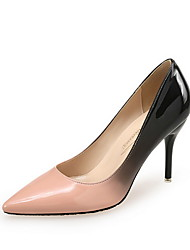 cheap -Women's Heels Spring / Fall Pumps Pointed Toe Wedding Office & Career Patent Leather Black