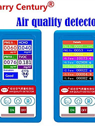 cheap -Formaldeyde HCHO PM1.0 PM2.5 PM10 Gas Analyzer TVOC Particles Counter Tester Detector Meter Indoor Air Quality Monitors Analyzer