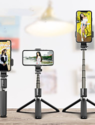 cheap -Selfie Stick Wireless Bluetooth Selfie Tripod Foldable Handheld Monopod Tripod With Shutter Iphone Remote motion camera