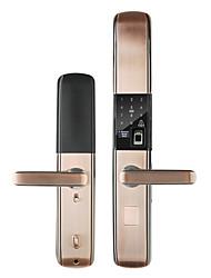 cheap -Zinc Alloy Fingerprint Lock / Intelligent Lock Smart Home Security System Fingerprint unlocking / Password unlocking / NFC Household / Home / Apartment Others (Unlocking Mode Fingerprint / Password