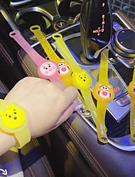 cheap -1 Piece Mosquito Repellent Bracelets Portable Repellent Fishing Outdoor activities Indoor Outdoor Kid's Adults'