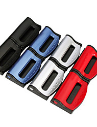 cheap -2PCS/Set Universal Car Seat Belts Clips Safety Adjustable Auto Stopper Buckle Plastic Clip 4 Colors Interior Car Accessories