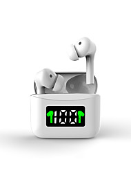 cheap -Wireless Earbuds TWS Headphones Midnight Green Earbuds Bluetooth 5.0 Headset Led Power Display Sports Waterproof In-Ear Hifi Sound Quality White Black Type C Charging-LITBest J5