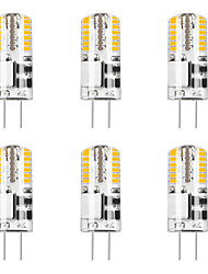 cheap -6pcs 5 W 48LED G4 3014SMD Silica Gel Corn Lights LED Bi-pin Lights   LED Creative Party Decorative Crystal Chandelier Light source Energy-saving Light Bulbs Warm White White AC/DC12 V