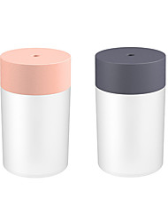 cheap -2pcs 1pcs 260ML Air Humidifier Aroma Essential Oil Diffuser for Home Car USB Fogger Mist Maker with LED Night Lamp
