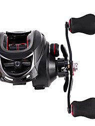 cheap -Fishing Reel Baitcasting Reel 7.2:1 Gear Ratio 17+1 Ball Bearings Easy to Carry for Sea Fishing / Freshwater Fishing / Trolling & Boat Fishing