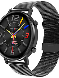 cheap -JSBP HP96 Smart Watch BT Fitness Tracker Support Notify Full Touch Screen/Heart Rate Monitor Sport Stainless Steel Bluetooth Smartwatch Compatible IOS/Android Phones