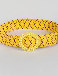 cheap -Women's Active / Vintage Wide Belt - Color Block