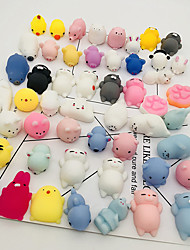 cheap -Squishy Squishies Squishy Toy Squeeze Toy / Sensory Toy Stress Reliever Mini Cat Stress and Anxiety Relief Kawaii Mochi Rubber For Kid's Adults' Boys' Girls' Gift Party Favor 12 pcs