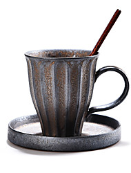 cheap -Cup & Saucer Ceramic Casual Daily Wear Drinkware
