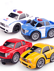 cheap -Toy Car Electric Toys Construction Truck Toys Police car Sports Car Touch Control Music & Light Plastic & Metal Mini Car Vehicles Toys for Party Favor or Kids Birthday Gift / Kid's