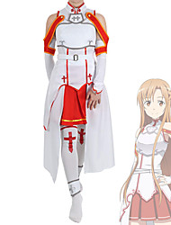 cheap -Inspired by SAO Swords Art Online Asuna Yuuki Anime Cosplay Costumes Japanese Cosplay Suits Costume For Women's