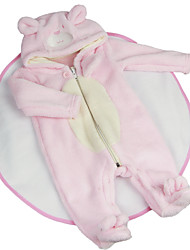 cheap -Reborn Baby Dolls Clothes Reborn Doll Accesories Cotton Fabric for 22-24 Inch Reborn Doll Not Include Reborn Doll Bear Soft Pure Handmade Girls' 2 pcs