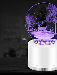 cheap -1 Piece Mosquito Lamp USB Easy to Use Insect Mosquito Fly Killer Repellent Physical Mosquito Killing Traveling Indoor Kid's Adults'