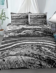 cheap -Home Textiles 3D Print Bedding Set  Duvet Cover with Pillowcase 2/3pcs Bedroom Duvet Cover Sets  Bedding Stone pattern