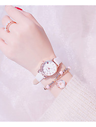 cheap -Kids Quartz Watches Analog Quartz Colorful Chronograph Creative Casual Watch / PU Leather