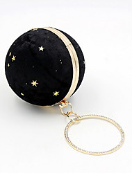 cheap -Women's Bags Velvet Evening Bag Sequin Wedding Bags Christmas Party Event / Party Black Blushing Pink Beige Dark Blue