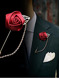 cheap -Alloy Brooches & Pins with Solid 1 Piece Wedding / Daily Wear Headpiece