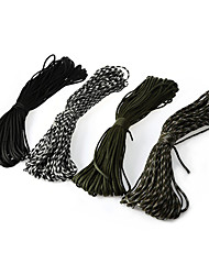 cheap -Multitools Ropes Rope Rope Polyester Hunting Fishing Hiking Camping / Hiking / Caving Trekking Black Army Green Camouflage Black / White 1 pcs
