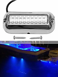 cheap -Waterproof Marine Lights LED Underwater Lighting Boat Transom Lights Navigation Lights Drain Plug Lights Courtesy Lamp Deck Lights