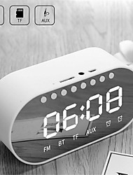 cheap -LED Alarm Clock Radio Digital Clock Wireless Bluetooth Speakers Support Dual Alarm Clock/ FM Radio/ AUX-in/ TF Card/ Flash Drive