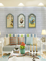 cheap -Places / Still Life Wall Decor Special Material 3D Print Wall Art, Wall Signs / Posters / DIY Painting Decoration