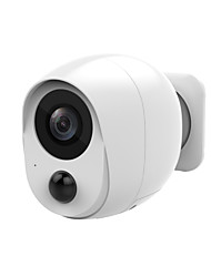 cheap -1080P Low Power Mini Battery Camera Outdoor Wifi IP Camera 2MP PIR Motion Detect Smart Home Wireless Security CCTV Camera iCSee Battery (excluding)