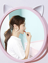 cheap -Bathroom Mirror Makeup Wall Mounted Punch Free Adjustable Cosmetic Mirror Wall Mirrors Touch Dimming Mirrors