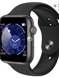 cheap -The new QS18 smart bracelet 1.54 inch heart rate sports silicone men and women Bluetooth call watch