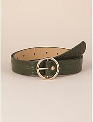 cheap -Women's Vintage Waist Belt - Solid Colored