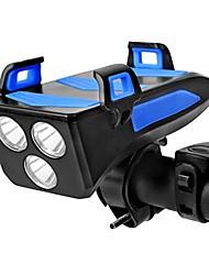 cheap -LED Bike Light Front Bike Light Bike Horn Light Bicycle Cycling Waterproof Multiple Modes Adjustable Anti-Shock White