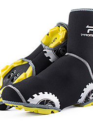 cheap -Adults' Cycling Shoes Cover / Overshoes Windproof Cycling Shoes Black Men's Women's Cycling Shoes