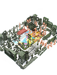 cheap -Action Figure Toy Playsets Military Fighter Aircraft War Tactical Novelty Plastic 60 pcs Kid's Child's Party Favors, Science Gift Education Toys for Kids and Adults