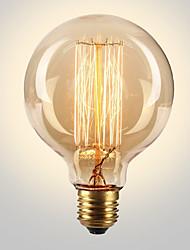 cheap -6pcs Edsion Bulbs 40W E26/E27 G80 2300k Incandescent Vintage Edison Light Bulb 220-240V
