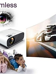 cheap -F09/F23 480P Basic Andriod/Wifi Sydn Display Hd 3D Led Mini Video Theatre Projector Home Cinema 18000 Lumens With Infrared Remote Control Function