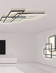 cheap -1-Light LED40W Geometric Modern Flush Mount Lights/ Ceiling Lights Wall Sconces Painted Finishes Alnminum for Living Room Show Room Office Room/ Warm White/ White/ Dimmable with Remote Control/ WIFI S