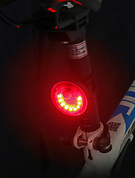 cheap -LED Bike Light Rear Bike Tail Light LED Bicycle Cycling Waterproof Rotatable Wide Angle Quick Release Li-polymer 120 lm Rechargeable Battery Red Camping / Hiking / Caving Everyday Use Cycling / Bike