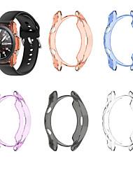 cheap -Cases For Galaxy Watch 3 45mm / Galaxy Watch 3 41mm TPU Compatibility Samsung Galaxy