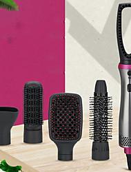 cheap -Hair Dryer Brush Upgrade 5 in 1 Hot-Air Brush One Step Hair Dryer & Volumizer Negative Ion Reduce Frizz Static Hair Straightener Curler Brush Professional Hot air  Brush for All Hair