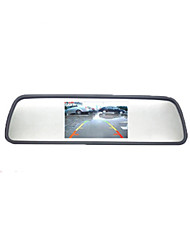cheap -4.3 inch rear view mirror high definition display 480P general 12 volt LCD reversing image