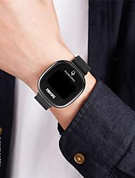 cheap -SKMEI Men's Digital Watch Digital Digital Modern Style Stylish Minimalist Water Resistant / Waterproof Calendar / date / day LED Light / One Year / Stainless Steel