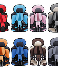 cheap -Car Safety Seat Adjustable Portable Convenient Breathable Polyester Fabric Thickening Baby Safety Seat Childen Protect Seat (3~6 years old)