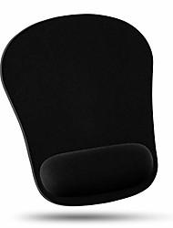 cheap -comfortable wrist rest mouse pad & #40;10 pack, black& #41;