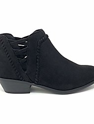 cheap -sincere women& #39;s low ankle heel bootie with elastic cross straps & #40;11 m us, cog imsu& #41;