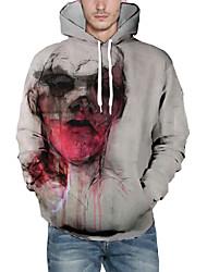 povoljno -Muškarci Pulover duks s kapuljačom Grafika Ležerne prilike Hoodies majica Obala