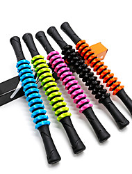 cheap -Gear Massage Stick Fascia Stick Roller Plastic Roller Stick Shaft Fitness Yoga Muscle Relaxation 13-Section Gear Hobbing Non-Slip Handle